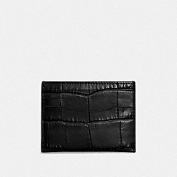 COACH F26008 - CARD CASE BLACK