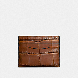 COACH F26008 - CARD CASE SADDLE