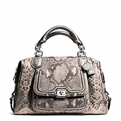 COACH F26041 - CAMPBELL EXOTIC LEATHER LARGE SATCHEL ONE-COLOR