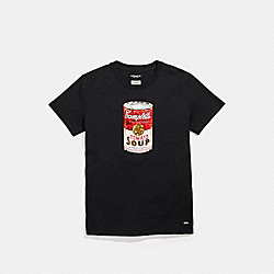 COACH F26114 - CAMPBELL'S® T-SHIRT BLACK