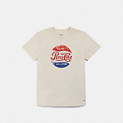 COACH F26115 Pepsi® T-shirt CHALK