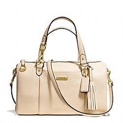 COACH F26121 - AVERY LEATHER SATCHEL BRASS/STONE