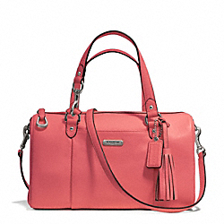 COACH F26121 - AVERY LEATHER SATCHEL SILVER/TEAROSE