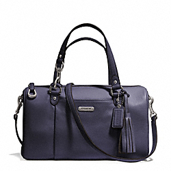 COACH F26121 - AVERY LEATHER SATCHEL SILVER/SLATE