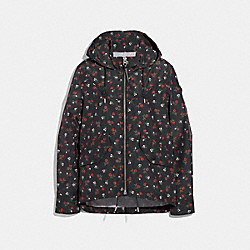 COACH F26135 - FLORAL WESTERN WINDBREAKER MULTICOLOR
