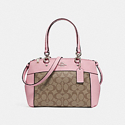 COACH F26139 - MINI BROOKE CARRYALL SILVER/KHAKI BLUSH 2