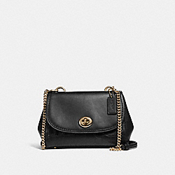 FAYE CROSSBODY - f26145 - LIGHT GOLD/BLACK