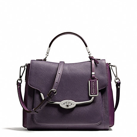 COACH F26274 MADISON SMALL SADIE FLAP SATCHEL IN SAFFIANO LEATHER ONE-COLOR