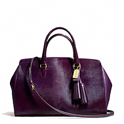 COACH F26361 - HAIRCALF AND LEATHER LARGE LOWELL SATCHEL ONE-COLOR