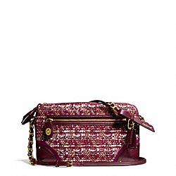 COACH F26437 - POPPY QUILTED BOUCLE FLIGHT BAG ONE-COLOR