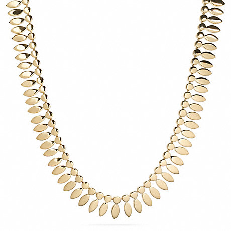 COACH f26487 CUPCHAIN METAL NECKLACE