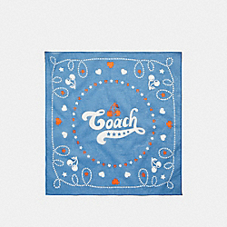 COACH F26598 - COACH CHERRY BANDANA MIDNIGHT NAVY