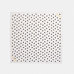 BUMBLE BEE SCRIPT OVERSIZED SQUARE - f26688 - CHALK