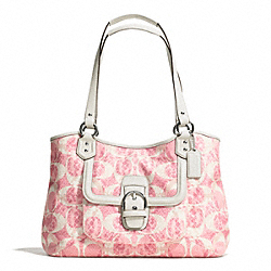 COACH F26726 - CAMPBELL SNAKE C PRINT CARRYALL ONE-COLOR