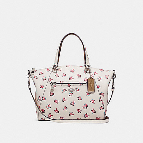 844eed2156ad COACH F26792 - PRAIRIE SATCHEL WITH FLORAL BLOOM PRINT - CHALK MULTI ...