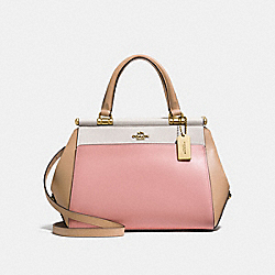 GRACE BAG IN COLORBLOCK - F26831 - PEONY/MULTI/OLD BRASS