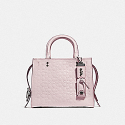 COACH F26839 - ROGUE 25 IN SIGNATURE LEATHER WITH FLORAL BOW PRINT INTERIOR BP/ICE PINK