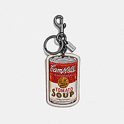 CAMPBELL'S® BAG CHARM - f26857 - MULTI/BLACK