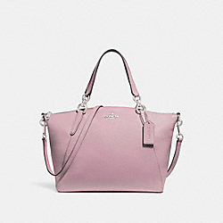 SMALL KELSEY SATCHEL - f26917 - SILVER/BLUSH 2