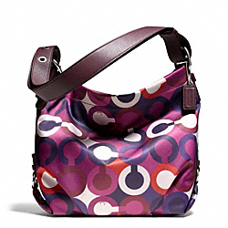 COACH F26928 - OP ART PRINT DUFFLE ONE-COLOR