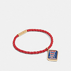 COACH F27187 - BAZOOKA™ BRACELET TRUE RED/MULTI
