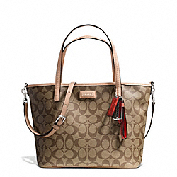 COACH F27236 - PARK METRO SIGNATURE SMALL TOTE ONE-COLOR