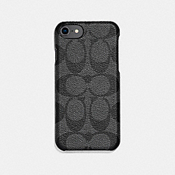 COACH F27296 Signature Iphone Case GRAY