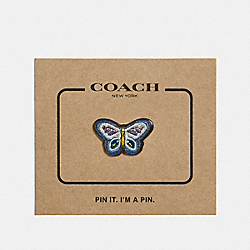 BUTTERFLY PIN - f27367 - MULTICOLOR