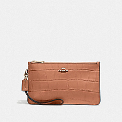 COACH F27478 Crosby Clutch In Colorblock IMMU4