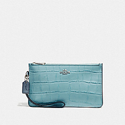COACH F27478 Crosby Clutch In Colorblock SVNGV