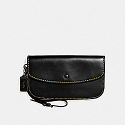 COACH F27528 - LARGE CLUTCH BP/BLACK
