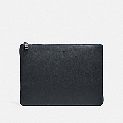 LARGE MULTIFUNCTIONAL POUCH - F27564 - BLACK