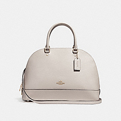 SIERRA SATCHEL - f27590 - CHALK/IMITATION GOLD
