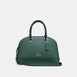 COACH F27591 Mini Sierra Satchel DARK TURQUOISE/LIGHT GOLD