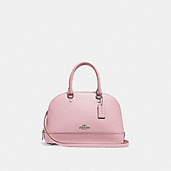 COACH F27591 Mini Sierra Satchel CARNATION/SILVER