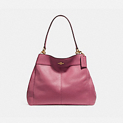COACH F27593 Lexy Shoulder Bag LIGHT GOLD/ROUGE