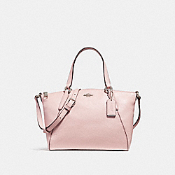 MINI KELSEY SATCHEL - f27596 - SILVER/BLUSH 2