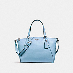 COACH F27596 Mini Kelsey Satchel SILVER/POOL