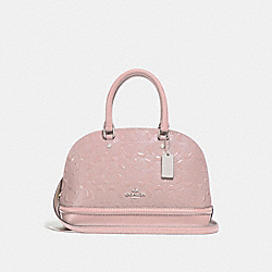 COACH F27597 Mini Sierra Satchel SILVER/BLUSH 2
