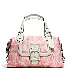 COACH F27892 - CAMPBELL SNAKE C PRINT SATCHEL ONE-COLOR