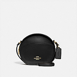 COACH F27971 Canteen Crossbody BLACK/LIGHT GOLD