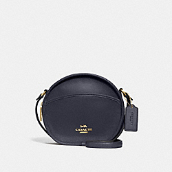 COACH F27971 Canteen Crossbody MIDNIGHT/LIGHT GOLD