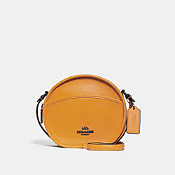 CANTEEN CROSSBODY - f27971 - GOLDENROD/BLACK ANTIQUE NICKEL
