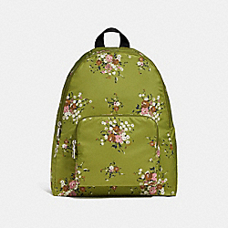 COACH F27977 Packable Backpack With Floral Bundle Print SVNHY
