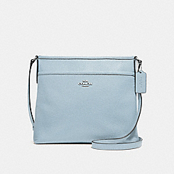 FILE CROSSBODY - f28035 - SILVER/PALE BLUE