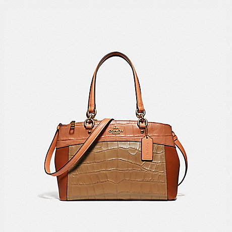 COACH f28079 MINI BROOKE CARRYALL IN COLORBLOCK IMMU4