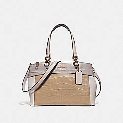 MINI BROOKE CARRYALL IN COLORBLOCK - f28079 - IMNSF