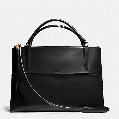 coach f28156 the large borough bag in polished calfskin light rh coach tingtingchen com