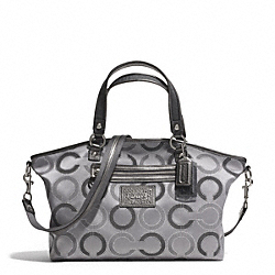COACH F28290 Daisy Dot Outline Large Satchel