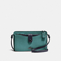 COACH F28337 - NOA POP-UP MESSENGER IN COLORBLOCK MARINE MULTI/SILVER